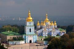 St. Michael's Golden-Domed Monastery in Kiev, Ukraine Stock Photos