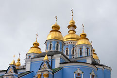 St. Michael's Golden-Domed Monastery in Kiev Royalty Free Stock Photo