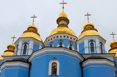 St Michael's Golden Domed Monastery in Kiev Royalty Free Stock Images