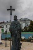 St. Michael`s Golden-Domed Monastery in Kiev Stock Photography
