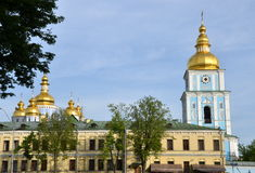 St. Michael's Golden-Domed Monastery, Kiev, Ukraine Stock Image
