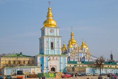 St. Michael's Golden-Domed Monastery Royalty Free Stock Images