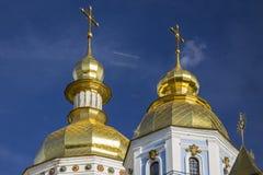 St- Michael` s Golden-gewölbtes Kloster in Kyiv, Ukraine stockfoto