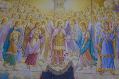 St Michael ` s gouden-Overkoepeld Klooster Stock Foto's