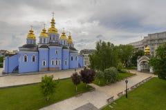 St Michael ` s gouden-Overkoepeld Klooster in Kiev stock fotografie