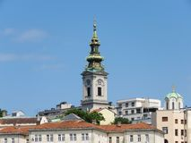 St Michael ` s Kathedraal, Belgrado Royalty-vrije Stock Foto's