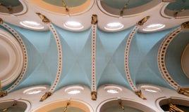 St- Michael` s Kirche, Cornhill Historische Kirche in der Stadt von London entwarf durch Zaunkönig und Hawksmoor stockbild