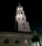 St Michael&-x27; s kościół, Charleston, SC Fotografia Royalty Free