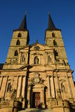 St. Michael's monastery in Bamberg, Germany Royalty Free Stock Images