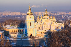 St. Michael's Monastery in Kiev Stock Images