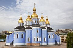 St. Michael's monastery in Kiev. Ukraine royalty free stock photography