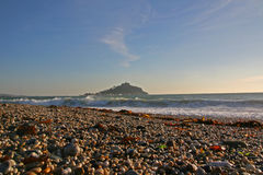St Michael's Mount. In Cornwall stock photos