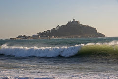 St Michael's Mount. In Cornwall stock photo