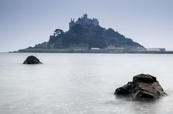 St Michael's Mount Bay Marazion early morning landscape Royalty Free Stock Image
