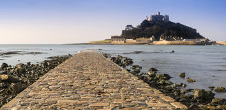 St Michael's Mount Bay Marazion early morning Stock Photography