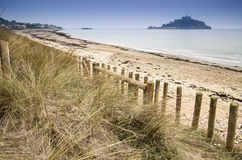 St Michael's Mount Bay Marazion landscape at sunrise Stock Photo