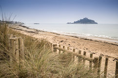 St Michael's Mount Bay Marazion landscape Royalty Free Stock Images