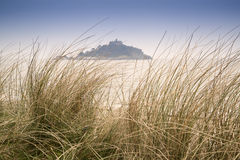 St Michael's Mount Bay Marazion landscape Stock Images