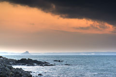 St Michael's Mount Bay Marazion sunrise landscape Stock Photos
