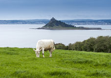 St Michael's Mount in Cornwall Royalty Free Stock Images