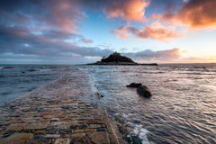 St Michael's Mount in Cornwall Royalty Free Stock Image