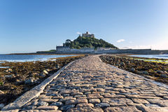 St Michael's Mount in Cornwall Stock Photos