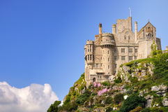 St Michael's Mount. Cornwall, England Royalty Free Stock Images