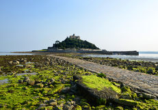 St Michael's Mount in Cornwall royalty free stock photography