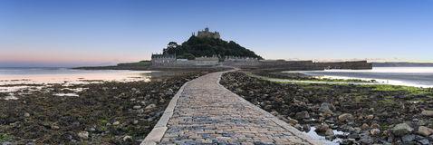 St Michael's Mount in Cornwall Stock Image