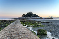 St Michael's Mount in Cornwall Stock Photography
