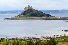 St. Michael´s Mount in Cornwall, UK royalty free stock image