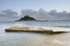 St Michael's Mount, Cornwall, UK. Stock Photos