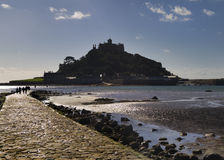 St Michael's Mount, Cornwall, UK. St Michael's Mount in  Cornwall  UK Europe Royalty Free Stock Images