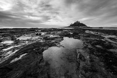 St Michael`s Mount, Marazion, Cornwall Royalty Free Stock Photos