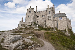 St. Michael's Mount, Marazion, Cornwall, UK Royalty Free Stock Photos