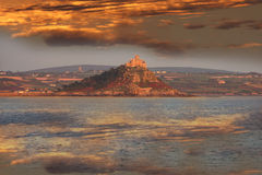 St. Michael`s mount near Penzance, Plymouth Royalty Free Stock Photos