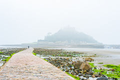 St Michael's Mount during tide Stock Photos