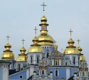 St.Michael's Orthodox Cathedral in Kiev Royalty Free Stock Photo