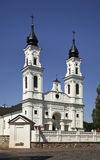 St. Michael's Small Basilica in Marijampole. Lithuania Royalty Free Stock Photo
