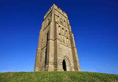 St Michael's Tower at Glastonbury Tor, Somerset, England, United Kingdom Stock Photos