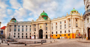St. Michael's wing of Hofburg Palace in Vienna, Austria Royalty Free Stock Images
