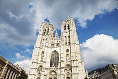 St. Michael and St. Gudula Cathedral Royalty Free Stock Image