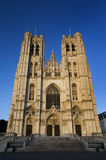 St. Michael and St. Gudula Cathedral - Brussels Royalty Free Stock Photo