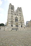 St Michael and St Gudula Cathedral Royalty Free Stock Images