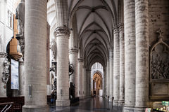 St. Michael and St. Gudula Cathedral Stock Images