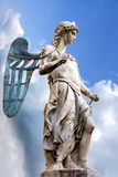 St. Michael - Statue By Raffaello da Montelupo Royalty Free Stock Photo