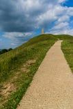 St Michael Toren, Glastonbury, het UK Royalty-vrije Stock Foto