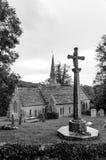St Michael & tutta la chiesa di angeli piccolo bredy Fotografia Stock