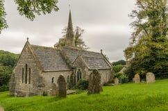St Michael & tutta la chiesa di angeli piccolo bredy immagine stock libera da diritti