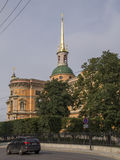 St. Michael& x27;s Castle, also called Mikhailovsky Castle or Enginee Stock Photo